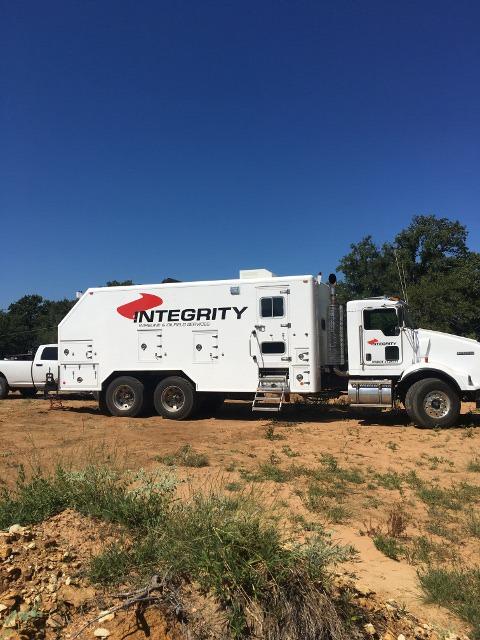 Integrity Wireline truck