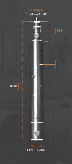 Diagram of ballistic release tool